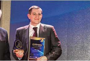 Украинцы признали ЗАЗ Vida лучшим доступным авто, статуэтку за него получил генеральный директор филиала «АвтоЗАЗ-Сервис» Андрей Залуцкий.