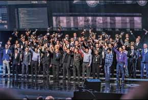 В столичном дворце «Украина» состоялось ежегодное чествование призеров чемпионатов и кубков Украины в автоспорте.