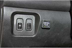 Кнопка управления имеет индикатор неисправности ГБО.
