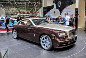 Rolls-Royce Wraith с нетипичным для марки кузовом трехдверный фастбэк станет самой мощной моделью марки (624 л. с.).