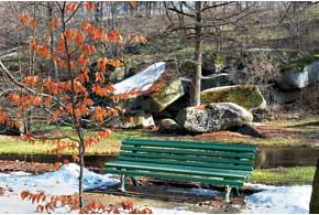 В «Софиевке» множество укромных уголков, где можно уединиться и в тишине наслаждаться природой.