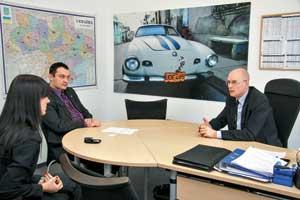 Интервью с Томасом Рушитцка, директором компании «Порше Украина»