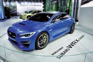Концепт-кар Subaru WRX Concept –