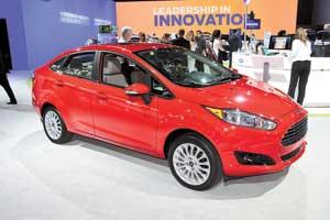 У Ford в Америке практически такая же модельная линейка, какив Европе. Правда, седана Fiesta (на фото) унас нет и пока не предвидится.