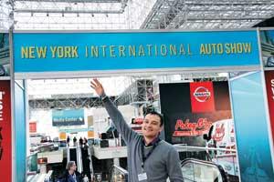 Мартовские мотор-шоу в Нью-Йорке