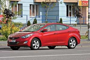 Hyundai Elantra 1.6 (130л. с.), АКП