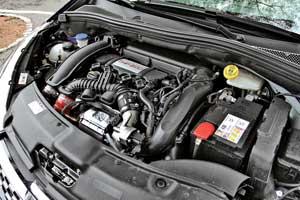 Силовой агрегат 208 GTi получил откупе RCZ. Отличия только в«более длинном» передаточном числе главной пары– 3,56 у GTi и4,53 у RCZ.