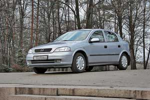 второе поколение Opel Astra G