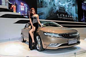 Одним из главных шоу-стопперов выставки в Шанхае стал концепт Geely Emgrand KC Concept, построенный напринципиально новой платформе. Облик модели разработан новым шеф-дизайнером компании Geely Питером Хорбери, ранее создававшим стиль Volvo.