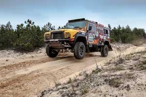 Дебютант рейда– мастер спорта СССР по автомобильному спорту Леонид Протасов – за рулем Land Rover Defender в первой же гонке занял 3-е место вгруппе.