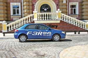 Тест-драйв BYD F3R