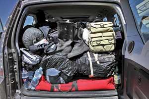 Иногда в большом багажнике «приживаются» вещи, которыми пользуешься считанные разы. А ездят они в машине постоянно.