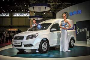 Интересную коммерческую модель на базе ЗАЗ Vida презентовали конструкторы Запорожского автозавода.