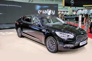 Компания KIA представила свой флагманский седан бизнес-класса Кia Quoris...