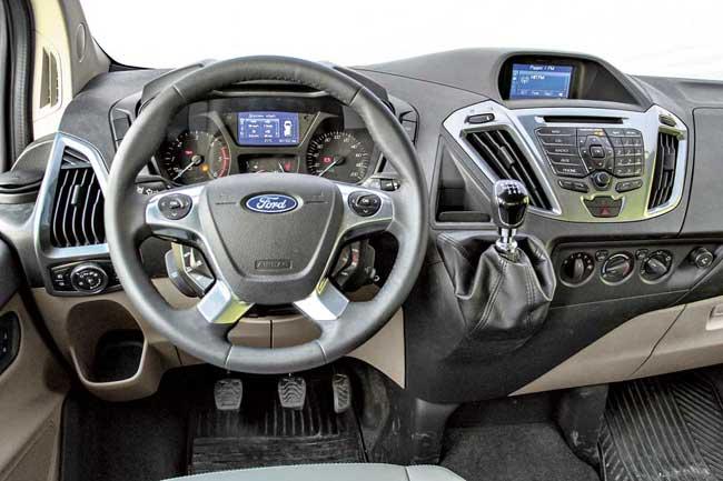 Тест-драйв Ford Tourneo Custom