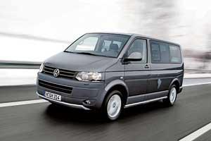 VW Transporter Kombi TDI 2,0 л