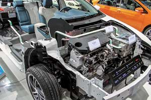 Второе поколение гибридов DM (Dual Modе – двойной режим) обзавелось турбомоторами серии TI.