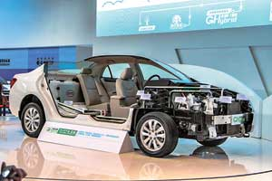 Еще одно направление разработок BYD – повышение КПД силовых агрегатов гибридов в рамках концепции Green Hybrid («зеленый гибрид»).