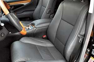 Тест-драйв Lexus LS 460