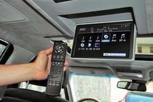 Медиавозможности, которые предоставляет японский автомобиль своим пассажирам, достаточно широкие.