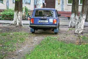Можно ли парковаться на грунте