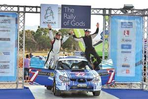 Второй старт в WRC принес украинцу Ефиму Важеевскому первый финиш.