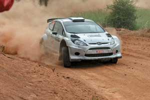 Результаты Алексея Тамразова на спецучастках были очень стабильны, ибольшинство из них– впервой пятерке WRC2.