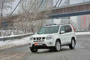 Nissan X-Trail 2,5 л (169 л. с.), 4х4, CVT