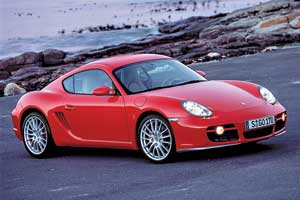 Porsche Cayman 2005 г.