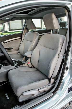 Тест-драйв Ford Focus, Honda Civic