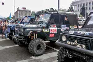 Харьковская команда Offroad Group «обкатала» в Ukraine Trophy 2013 новое поколение спортсменов.