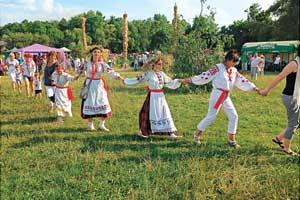 «Праздник Ивана Купалы» в Пирогово