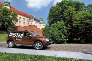 Для европейского турне на четырех колесах мы выбрали Renault Duster.