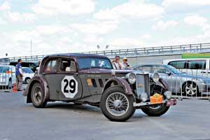 На английском MG SA (1936 г.) успешно выступил интернациональный экипаж Австралия – США.