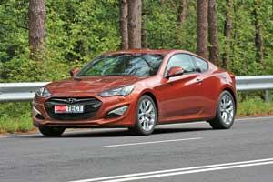Hyundai Genesis Coupe 2,0 л T (260л. с.)