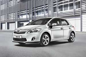 Toyota Auris Hybrid 2010 г.