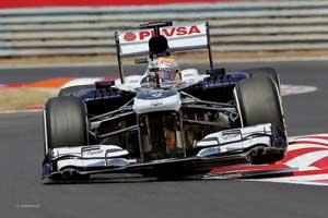 Пилот Williams наконец заработал первые очки для команды – залогом этого успеха стали обновленные шины Pirelli, которые лучше подходят для болида.