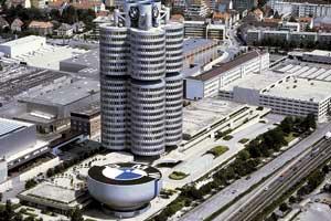 штаб-квартира концерна BMW