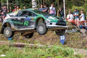 Юрий Протасов в быстрейшей гонке WRC регулярно показывал время в двадцатке абсолютного зачета и снова добрался до финиша на этапе.