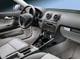 Audi A3. Отделка алюминием добавляет салону спортивности.