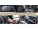 Ford Fiesta 1.4 – Ford Fusion 1.4. Помимо единой платформы, в машинах имеется множество общих элементов: щитки приборов 1 абсолютно идентичны; при помощи расположенного под рулем д/у 2 легко управлять магнитолой; багажник открывается из салона кнопкой 3; пепельницу 4 легко перенести и вытряхнуть; сложить спинки заднего сиденья труда не составит 5; «бардачки» 6 между собой немного отличаются, но оба имеют держатели для небольшой книжечки, ручки и визиток.