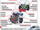 Размещение узлов и агрегатов в ВАЗ-2111 с энергоустановкой на топливных элементах.