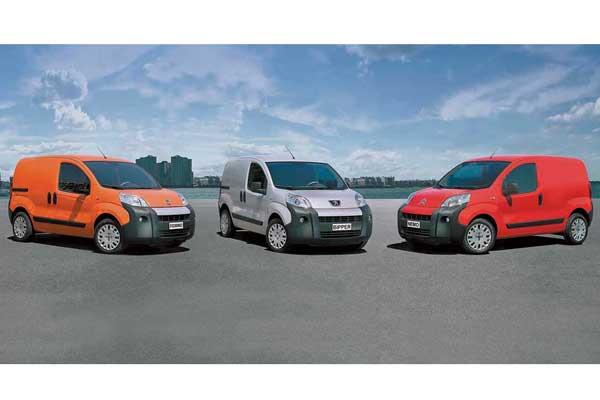 Peugeot Bipper, Fiat Fiorino и Citroёn Nemo