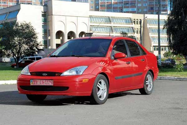 Ford Focus 1998–2004 г. в. От $9400 до $16800