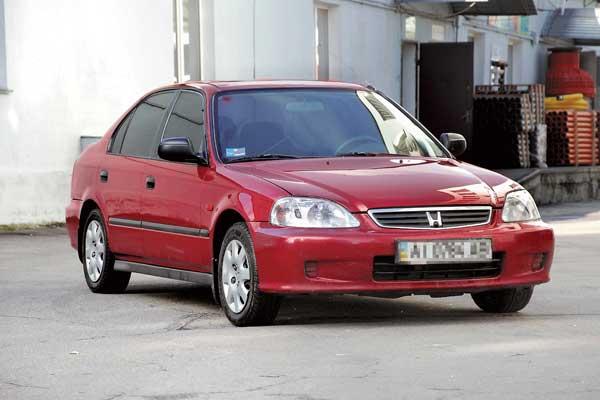 Honda Civic 1995–2000 г. в. От $6500 до $13400