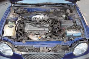 В моторах Corolla также нужно регулировать тепловые зазоры клапанов, но, в отличие отCivic, реже – через 100 тыс. км.