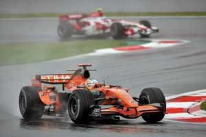 Обещания Майка Гаскойна сбываются: в Японии Spyker завоевал первое очко!