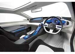 Концептуальное спортивное купе Honda CR-Z