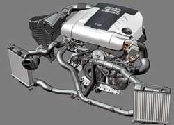 Табун из 240 «лошадок» и550Нм крутящего момента– таковы показатели нового 6-цилиндрового мотора 3.0 TDI, которым пополнится линейка силовых агрегатов внедорожника Audi Q7