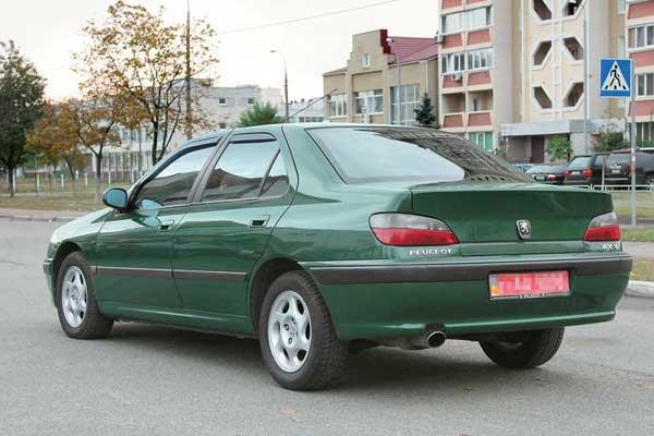 Peugeot 406 1995–2004 г. в.